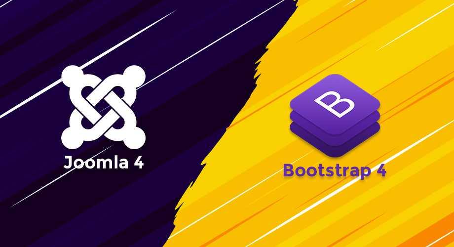 joomla and bootstrap logo